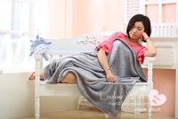 1 1 5M Totoro Totoro Plush Toys Wholesale Air Conditioning Blanket Coral Fleece Blanket Christmas Gift