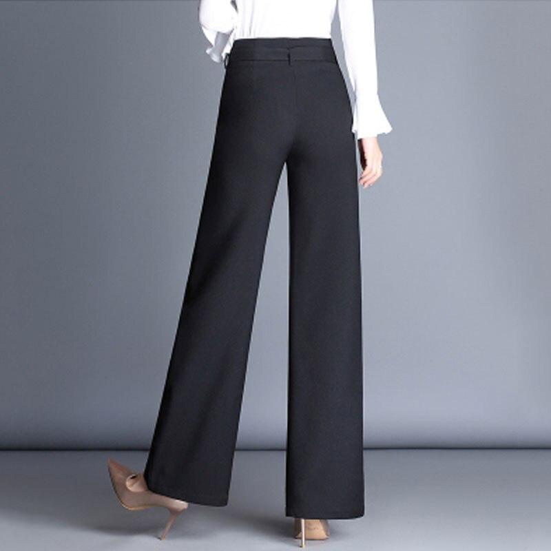 2706063dec Pantalones de las mujeres de falda pantalones de pierna ancha de las mujeres  de cintura alta