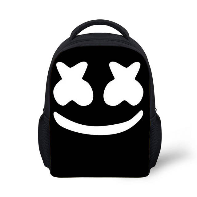 359c9e33bd3d Children School Bags Helmet Schoolbag For Boys Small DJ funny cute Backpack  Marshmello Kid Bag Mochila
