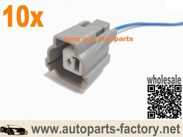 longyue 10pcs obd1 obd2 vtec solenoid plug harness pigtail b16 b18 d16 case  for civic (