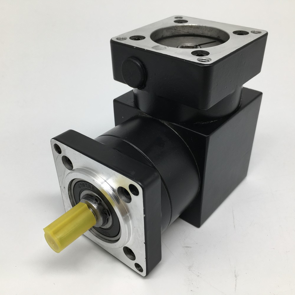 10 :1  Gearbox Right Angled Planetary Speed Reducer 90degree Reversing Corner 8mm 6.35mm Input for NEMA23 57mm Stepper Motor10 :1  Gearbox Right Angled Planetary Speed Reducer 90degree Reversing Corner 8mm 6.35mm Input for NEMA23 57mm Stepper Motor