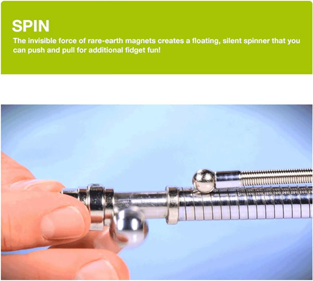 Think ink Pen Fidget Pen As Cube Antistress Toy Stress Wheel Fidgets Fingers Spinner Autism Spiner Focus Hands Tri-Spinner Gift