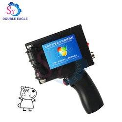 handheld expiry date printing laser inkjet code printer/manual food price inkjet marking machine/jet printer processing line