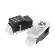 цена на 2X LED 3D Car Door Laser Welcome Logo Projector Light For AUDI Q3 Q5 Q7 A1 A3 A4 A5 A6 A7 A8 B5 B6 B7 B8 C5 C6 C7 8V V8 8P 8L TT