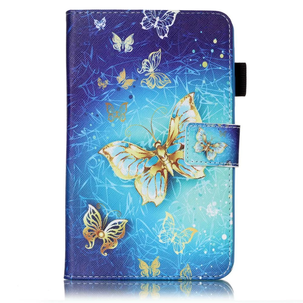 2016 Tab A6 7.0 Case For Samsung Galaxy Tab A 7.0 T280 T285 SM-T280 Case Cover Tablet Fashion Painted Flip Leather Funda Shell