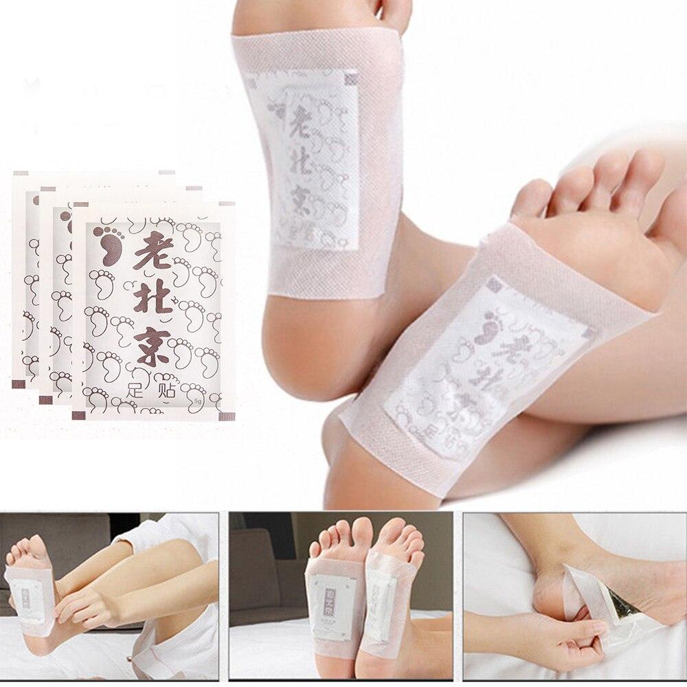 Патчи для ног старого Пекина, 10 шт., пластыри для коррекции токсинов, пластырь для похудения, маска для сна, увлажняющая маска для ног TSLM1