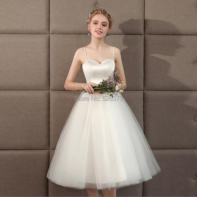 17a603e8ded5d YNQNFS IWD11 Special Occasion Knee Length Short Bridal Dress Wedding Party Dress  Bridesmaid Dress 2019