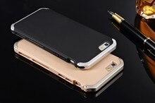 чехол на iphone5 5S SE ультра тонкий алюминиевый + PC Мужская Solace металл случаи мобильного телефона для Apple Iphone 6 6S 7 плюс Чехол из металла