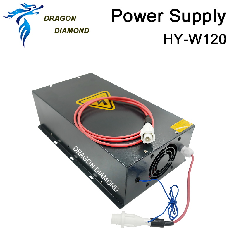 120W Co2 Laser Power Supply HY W120 AC220V 110V for Co2 Laser Engraving Machine