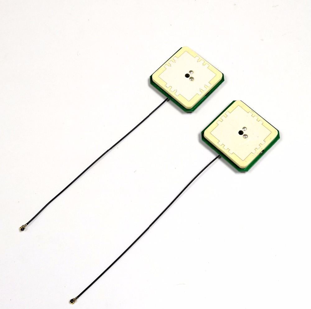 2 Pcs de haute qualité GPS GLONASS BEI DOU trois système GPS antenne 38DB high-gain, haute-précision positionnement GNSS RTK antenne