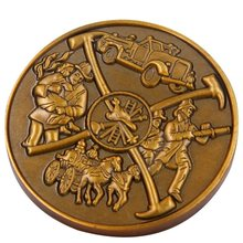 Custom Metal Coin with 3D Logo for Souvenir OEM antique bronze color coins 1pcs russia mama coin mother s day gift metal crafts antique bronze plated coins arts souvenir collectibles
