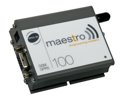 ФОТО RS232 industrial gsm modem mastro 100