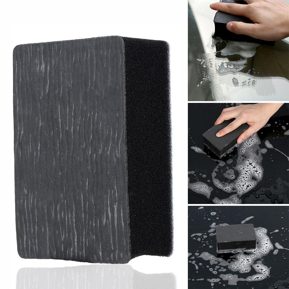 1 Pcs Car Wash Magic Clay Bar Pad Sponge Block Super Auto Detailing Clean Clay Car Clean Tools Magic Mud Car Cleaner detailing wash