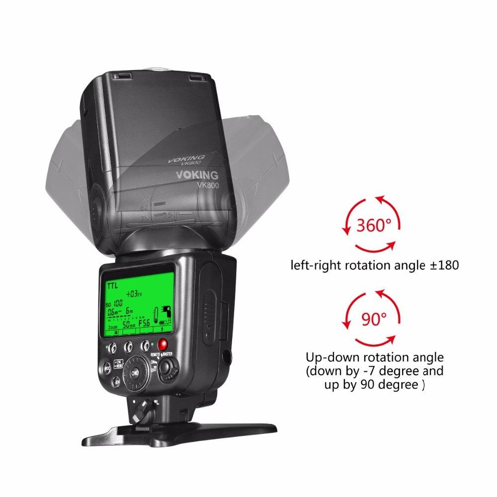 Voking VK800 I TTL External Camera Flash Slave Speelite for Nikon Digital SLR Cameras