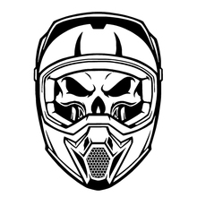 buy skull stickers for helmet and get free shipping on aliexpress com