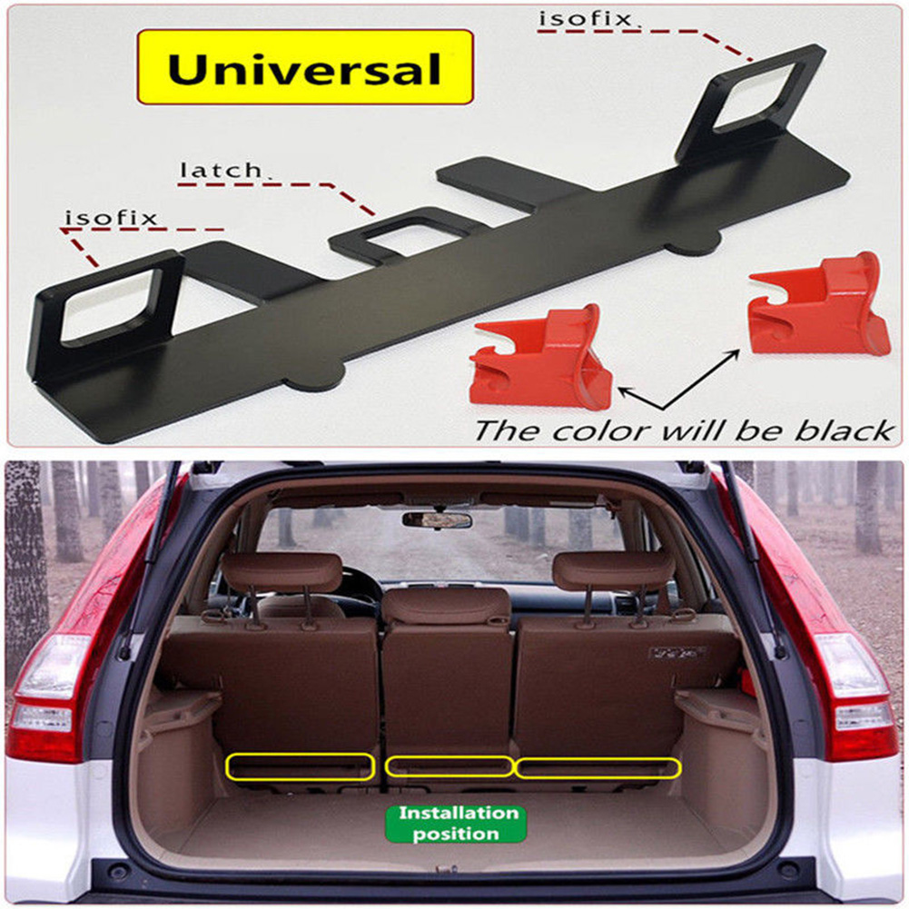 Latch Guide Automotive For SUV Hatchback Compact Safety Seat Accessory For ISOFIX Belt Car Bracket Child Connector
