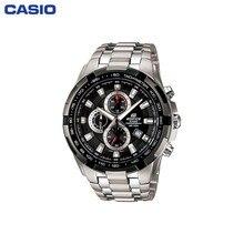 Наручные часы Casio EF-539D-1A мужские с кварцевым хронографом на браслете