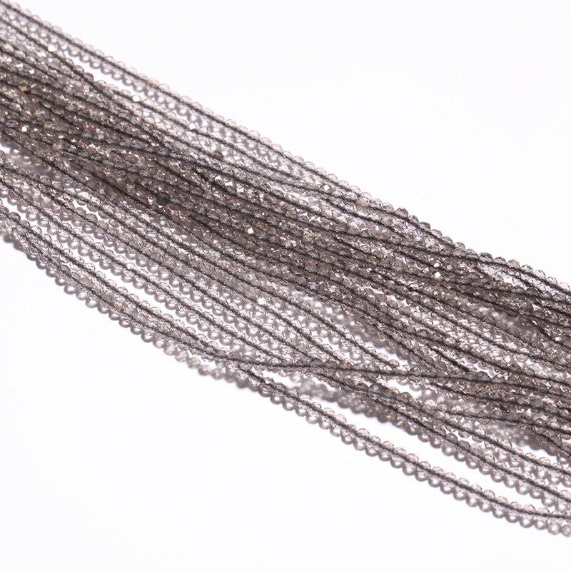 Symbol Der Marke 2mm Glasperlen Runde Glänzende Faceted Perlen Natürlichen Kristall Perlen Für Schmuck Machen Handgemachte Versorgung 39 Cm Lange Licht Tee Elegante Form Schmuck & Zubehör