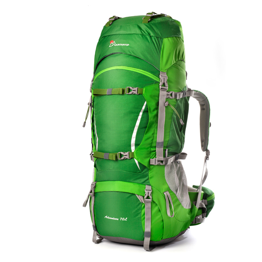 70l Professional Climbing Bag Cologne Material Internal Frame Unisex Travel Hiking Outdoor Long Distance Camping Backpack