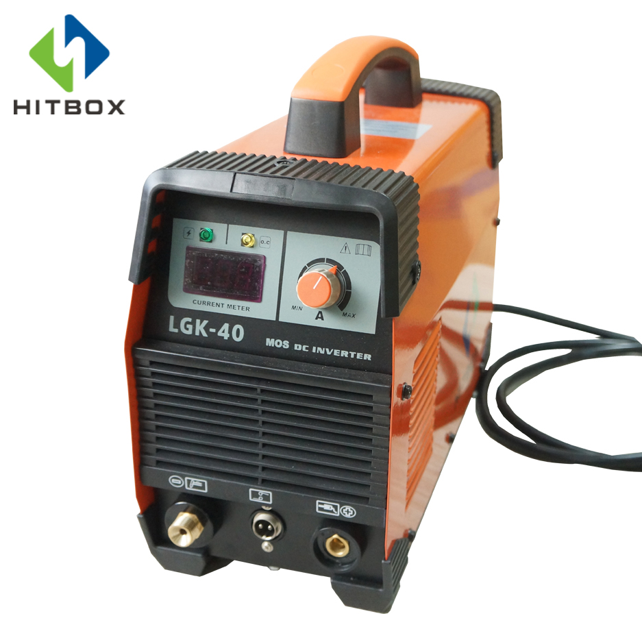 HITBOX Plasma Cutter Welder Single Phase 220V For Carbon Steel Stainless Steel Aluminum Cutting Thickness 12mm stainless steel tree cookie cutter