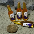 """1/6 scale Bottled beer for Dolls Props for 12"""" action figure doll ,Doll Props accessories.Doll not included"""