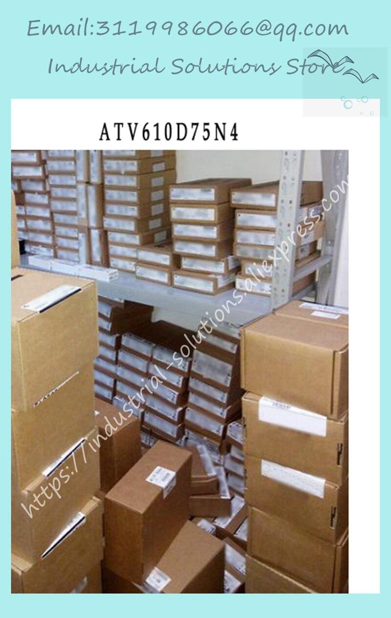 Nouveau ATV610D75N4 ATV61OD75N4 75kw145a 380/415 V inverseur de pompe de ventilateurNouveau ATV610D75N4 ATV61OD75N4 75kw145a 380/415 V inverseur de pompe de ventilateur
