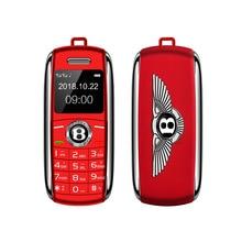 Mafam Mini Sport Car Key Shape Mobile Phone BT Dailer Voice Changer Speed Dial D