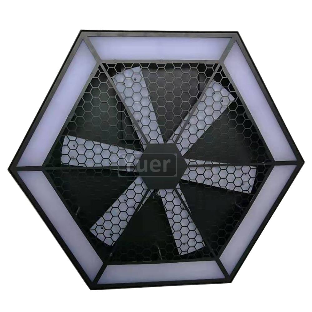 2 шт./лот современный Декор лампы 200 Вт светодиодный вентилятор эффект света светодиодный подвесной настенный светильник Бар KTV DJ диско микро освещение поворотной сцены - 2
