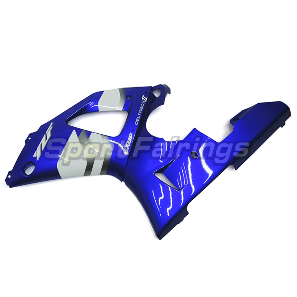 Обтекатели для Yamaha YZF1000 R1 YZF-R1 год 00-01 2000 2001 мотоциклетный обтекатель abs комплект Кузов Мотоцикл передка сине-белые
