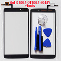 "Touchscreen Front Outter Sensor Panel Glass For Alcatel One Touch Idol 3 6045 OT6045 6045Y 5.5""100% Test Touch Screen Digitizer"