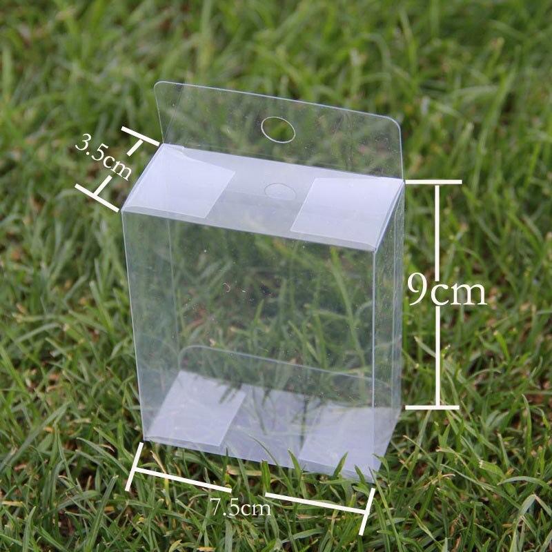 ④Cajas transparentes de plástico transparente cajas de PVC con ...