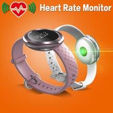 4 Farben Frauen Bluetooth Smart Watch Smartwatch Armbanduhr Pulsmesser Smart Uhr Verbunden Uhr für Android IOS Telefon