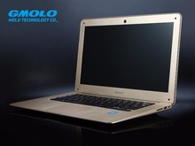 "GMOLO brand Russian free shipping 14"" ultrabook laptop, 4GB 160GB & mixed SSD slot, J1900 notebook computer HDMI wifi webcam"