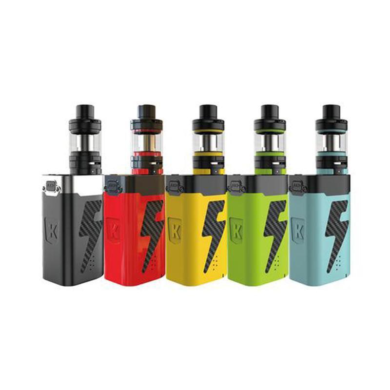 Authentic Kanger AKD Five 6 220W Kit 5 Battery Power Big Mod Vape Kit E Cigarette 8ml Top Refilling Atomizer 100% Original