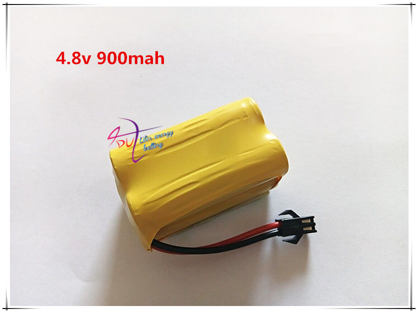 Liter energy battery Ni-Cd AA 4.8V 900mAh Battery for Electric Screw Driver Emergency Light Exit Entrance Sign Backup power