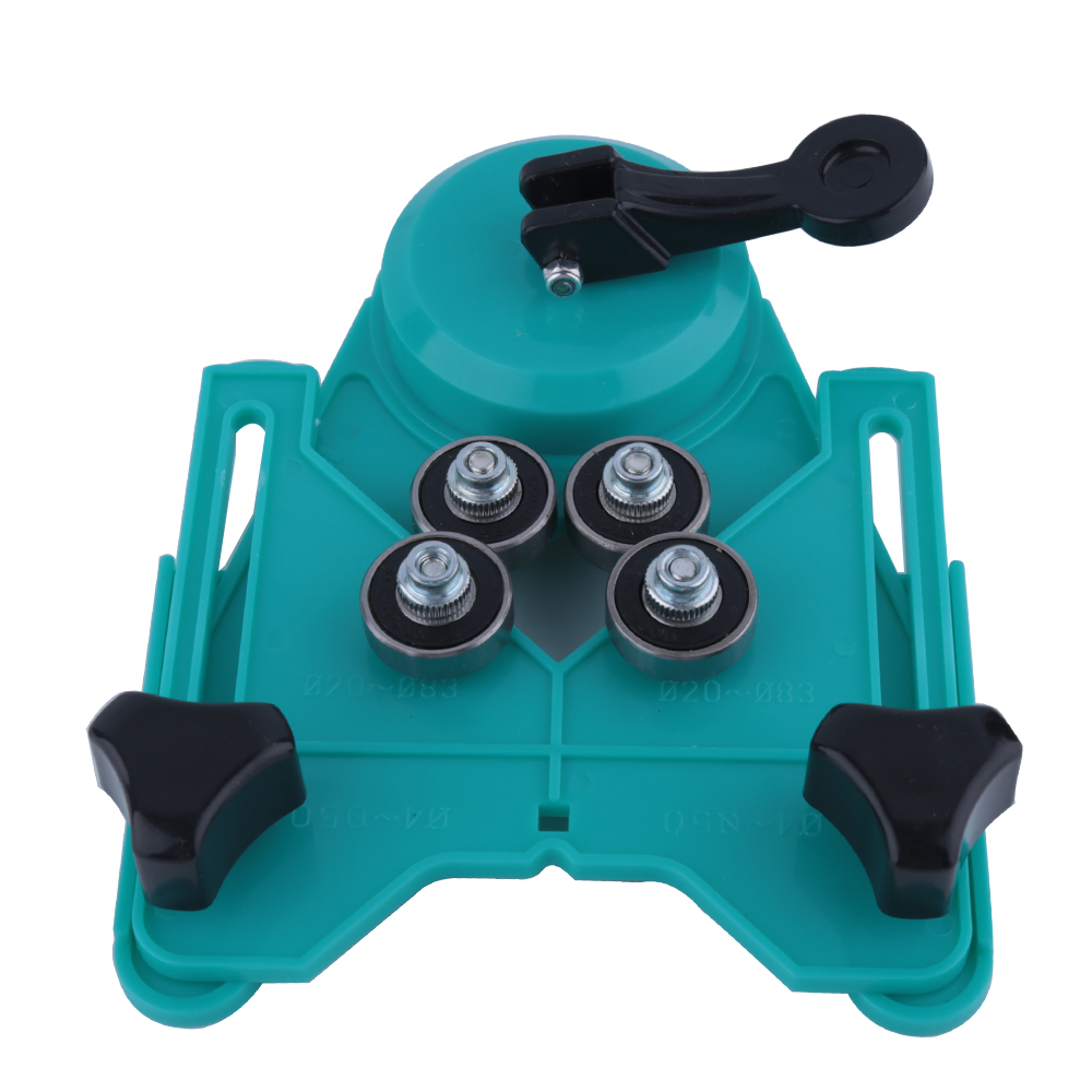 Top Quality 4-83mm Drill Guide for Glass Tile Hole Saw Locator Openings Sucker Base Vacuum Base Sucker openings Locator