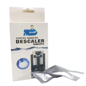 Image 2 - 20Tablets/Box Eco Friendly Coffee Cleaning Tablet  Coffee Maker Descaler Tablets Electrical Cleaning Kitchen Accessories