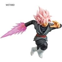 WSTXBD Original BANPRESTO Dragon Ball DBZ SS Rose Goku Black Universe 10 Figure Brinquedos Toys Figurals