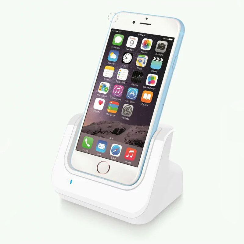 Chargeur Docking Station Stand Charging Cradle Sync Dock pour iPhone 6 6 S 6 Plus 5S 5se 7 7 plus 8 plus