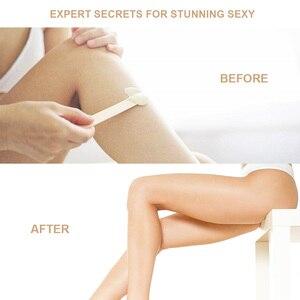 Image 5 - LadyMisty 100g Wax beans No Strip Depilatory Hot Film Hard Wax Pellet Waxing Bikini Face Hair Removal Bean  For Women Men