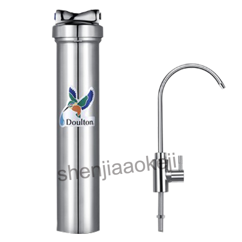 Home use water purifier direct drinking water purifier filter tap water household kitchen drinking fountains water purifier household direct drinking water purified water filter household water purifier double outlet tap