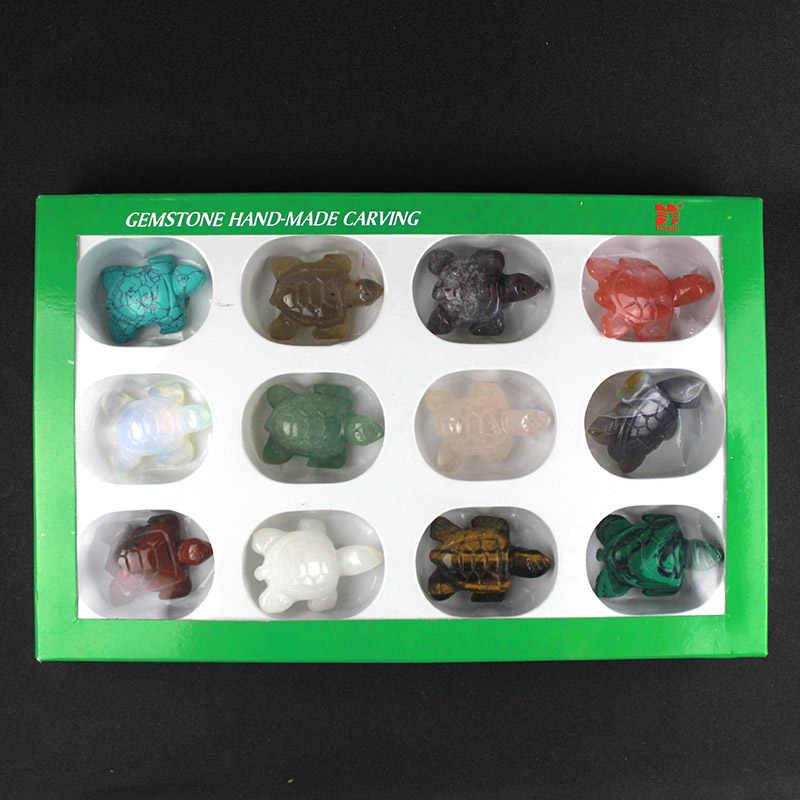 1 шт. натуральный камень ручной работы черепаха Decration Кристалл Опал, кварц орнамент черепаха кулон