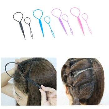 2 sztuki - pętelka do stylizacji fryzur