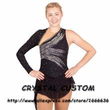 Платье для фигурного катания для девочек на заказ; Новинка; Брендовые платья для катания на коньках; DR4820