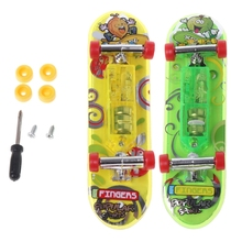 Premium Quality 2pcs/set LED Mini Skateboard Finger Board for Tech Decks Kids Toy Gifts Baby Sets