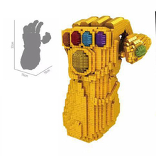 Infinity Gauntlet Thanose Micro Diamond Building Blocks Toys super Heroes Assemble Model Educational Bricks Gifts singlesale x men apocalypse rogue anna marie magneto marvel super heroes minifigures assemble model building blocks kids toys