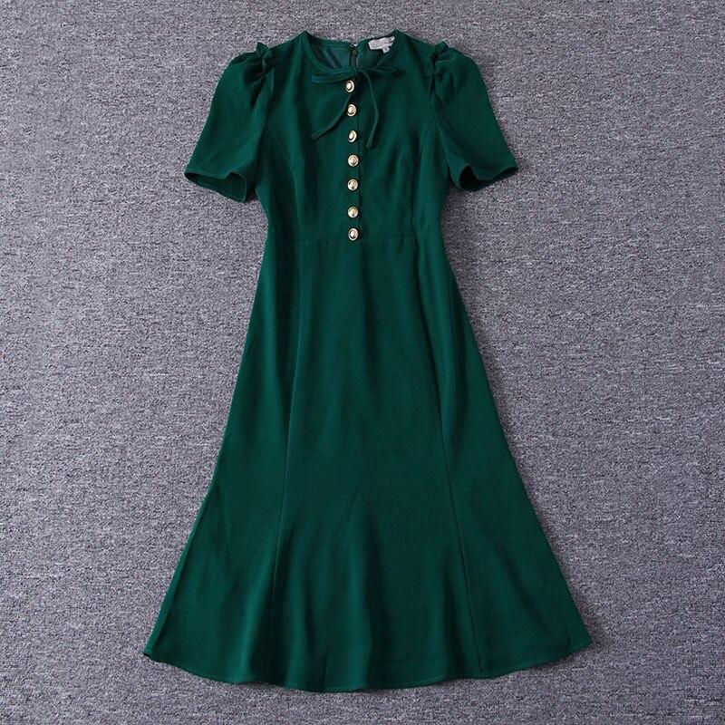 Sirène Élégante Travail Kate Green Middleton Robes Princesse Femme Courtes red cou O deep Sad185as De Black 2019 Printemps Vêtements Manches Robe vSpdpHPq5w