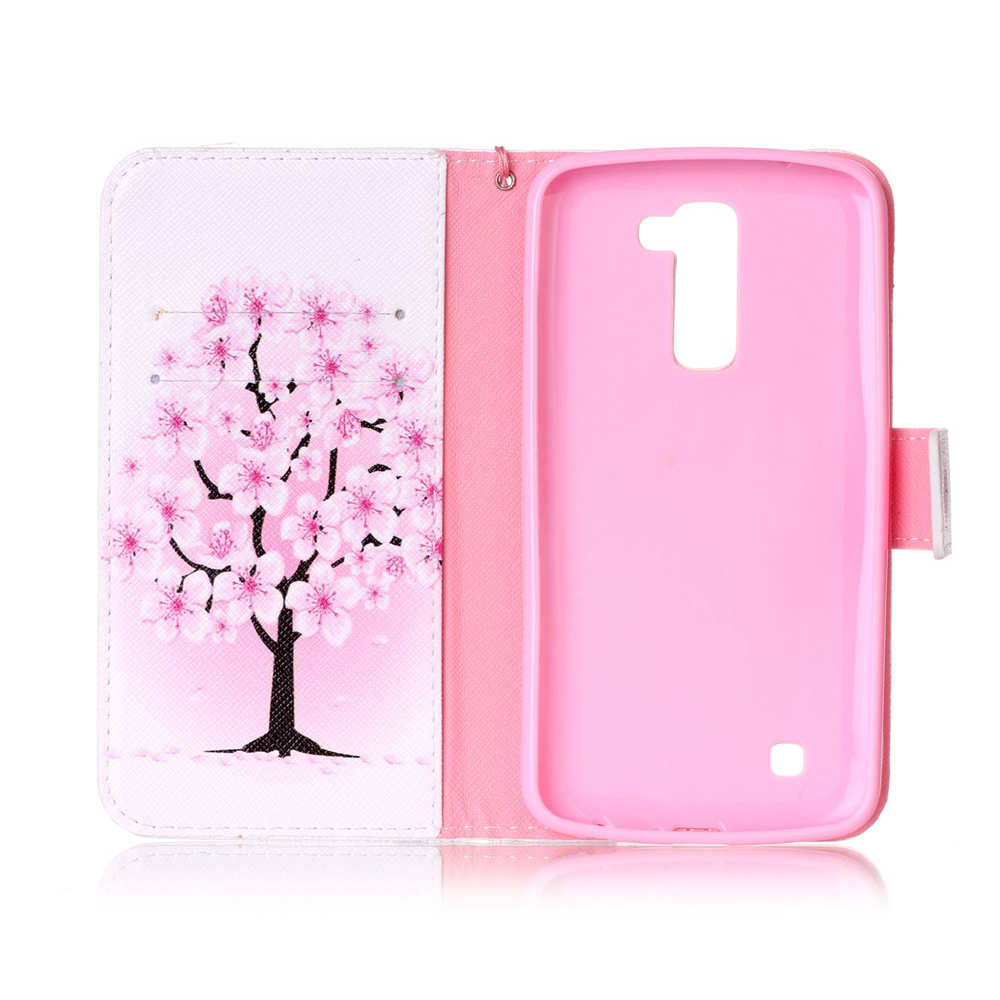 super popular 00f84 a216e US $4.49 10% OFF|For LG K10 Lte K420DS K430N K410G K410A Brand Book Flip PU  Leather Cases For LG K10 Dual Sim K430DS Cute Card Holder K10 Covers-in ...