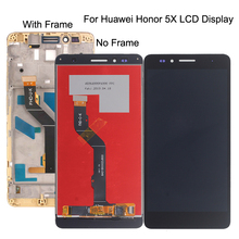 "5.5"" high quality For Huawei Honor 5X LCD Display Touch Screen Digitizer Assembly Replacement GR5 KIW-L21"