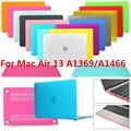 Новый Смарт-Резиновые Пальто Hardshell Твердый Переплет Чехол для MacBook Air 13 A1369 A1466